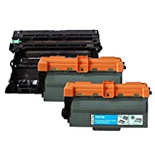 3 Pack SaveOnMany ® Compatible Brother DR-720 DR720 Drum unit + 2*TN-750 TN750 / TN-720 TN720 8K Pages High Yield Black BK Toner Cartridge for DCP-8110DN 8150DN 8155DN / HL-5440D 5450DN 5470DW 5470DWT 6180DW 6180DWT / MFC-8510DN 8710DW 8810DW 8910DW