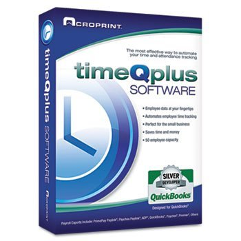Acroprint 010254000 - TimeQplus Time & Attendance Software (NETWORK UPGRADE)