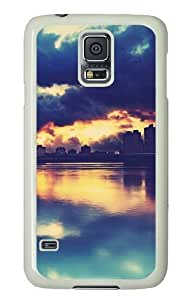 Apocalyptic Sunset Custom Samsung Galaxy S5/Samsung S5 Case Cover Polycarbonate White
