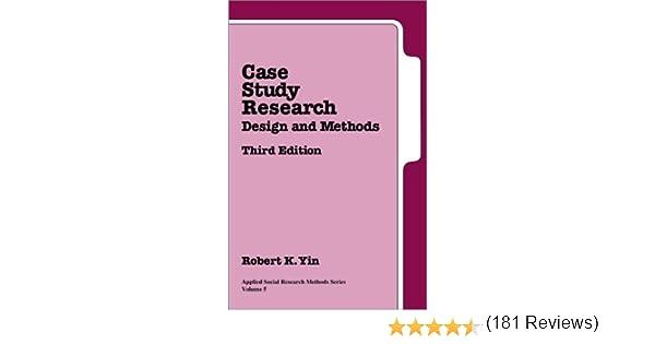 Yin case study research pdf