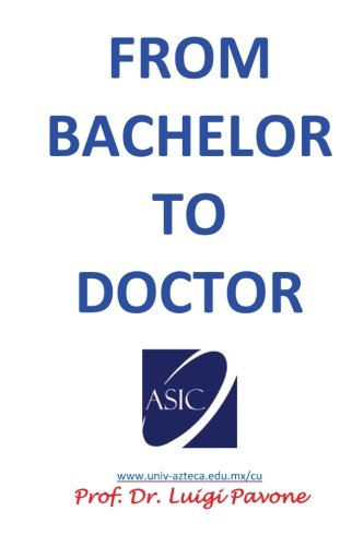 From Bachelor To Doctor: Let Me Call You Doctor