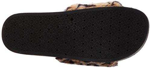 Steve Madden Womens Softey-p Slide Sandaal Luipaard