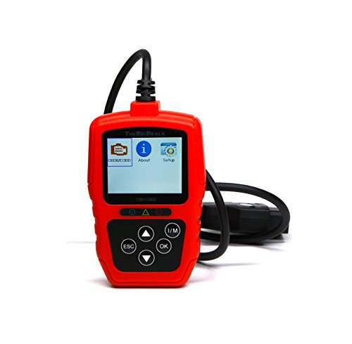 THEBIGDEALS T001OBD Enhanced Universal OBD II Scanner Car Engine Fault Code Reader CAN Diagnostic Scan (Dodge Intrepid Engine Computer)