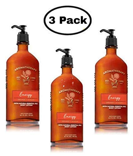 Bath & Body Works Aromatherapy Energy - Orange + Ginger Body Lotion, 6.5 Fl Oz, ()