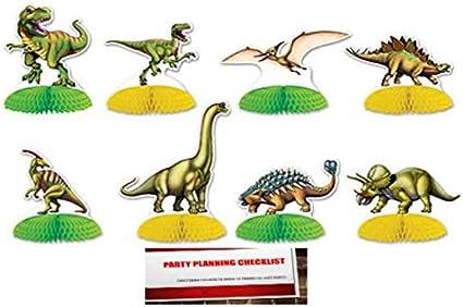 Amazon Com Paquete De 8 Dinosaurio Mini Centros De Mesa 4 Inches A 6 25 Inches Plus Plus Planificacion De Fiestas Lista De Verificacion Por Mikes Super Store Health Personal Care Triceratops fue un dinosaurio herbívoro proceratops es un dinosaurio herbívoro que vivió en asia en tiempos de cretácico superior, hace 75. amazon com