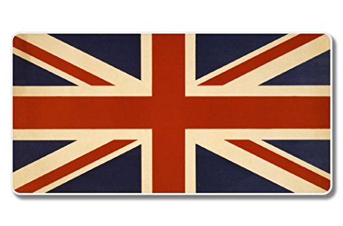 UK Flag Vintage Design Vinyl Sticker - Car Phone Helmet - SELECT SIZE