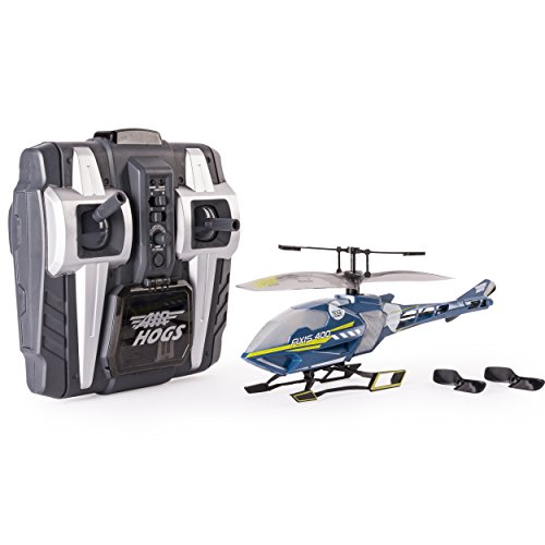 Air Hogs Radio Controlled Helicopter (Air Hogs, Axis 400x, 4 Channel RC Helicopter, Grey, by Spin Master)