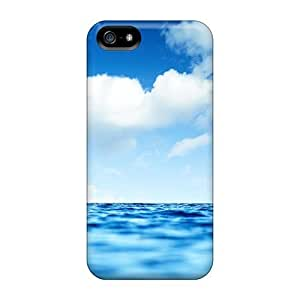 StarFisher Perfect Tpu Case For Iphone 5/5s/ Anti-scratch Protector Case (blue Ocean Sky) hjbrhga1544