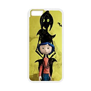 dakota fanning in coraline i iPhone 6 Plus 5.5 Inch Cell Phone Case White 53Go-301394