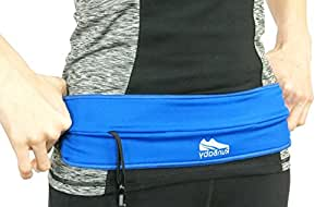 Running Pack Belt - Best for Running, Weights, Football, Hockey, Lacrosse, Field & Track & All Other Sports. Lightweight Design Holds Cell Phones, Keys and Cash - 100% Guaranteed