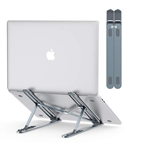 Best Prices! Nulaxy Laptop Stand, Portable Computer Laptop Mount, Aluminum Laptop Riser with 6 Level...