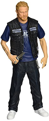 Mezco Toyz Sons of Anarchy - Jax Teller - SAMCRO Shirt Figure, 6