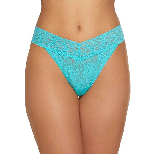 Hanky Panky Rolled Signature Lace Original Rise Thong (Hanky Panky Original Lace Thong)