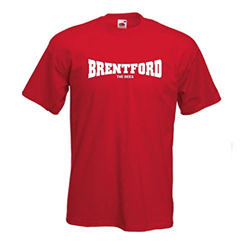 fan products of Brentford FC THE BEES Football Club Soccer T-Shirt - All Sizes Available