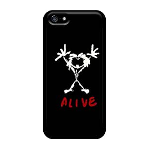 Apple Iphone 5/5s SNI2906EGop Support Personal Customs Trendy Pearl Jam Series High Quality Hard Phone Case -hardcase88