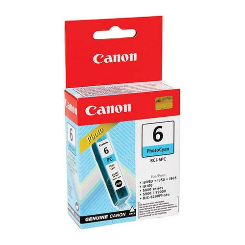 21 opinioni per Canon 4709A002 Serbatoio Inchiostro BCI-6 PC Photo, Ciano Foto