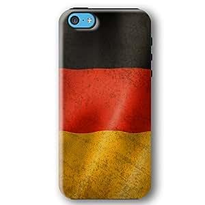 German Germany Flag iPhone 5C Armor Phone Case