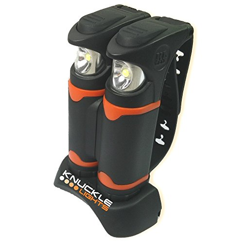 Knuckle Lights Rechargeable Gear Light for Running at Night, 2 Count