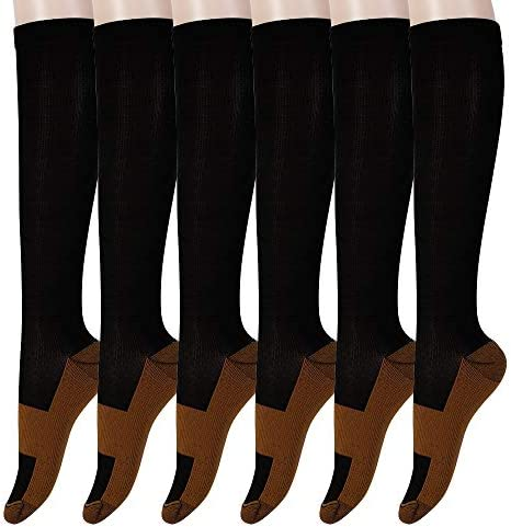 Graduated Copper Compression Fatigue Stockings 15 20 product image