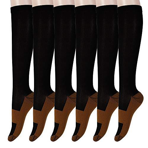 Graduated Copper Compression Socks