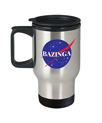 Bongo Womens Dress Shoe (Big Bang Coffee Travel Mug - Bazinga Nasa inspired coffee cup - The Big Bang Theory Gift - The Big Bang - Sheldon Cooper big bang theory gift)