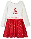 A for Awesome Youth Girls Long Sleeve Dress