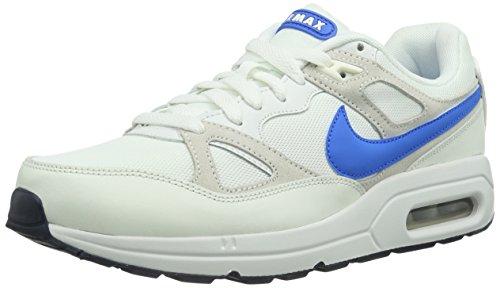 Nike Air Max Span Txt 629980 Herren Sneaker Weiß (Summit White/Pht Bl-Sl-Wlf Gry)