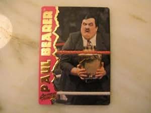 "PAUL BEARER (William Alvin ""Bill"" Moody) - WWF 1995 Action Packed Wrestling Card #16"