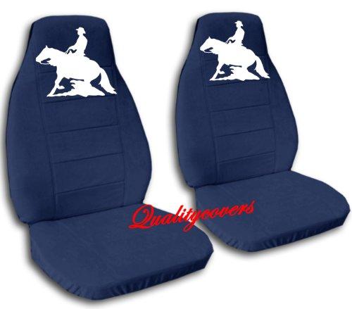 Blue Reining Horse - Navy blue