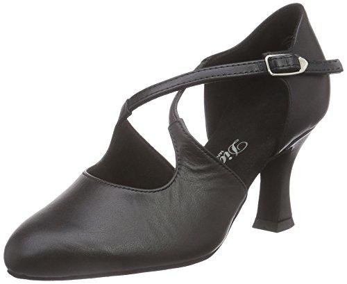 Femme Tanzschuhe 052 de Danse Salon de 080 Damen Diamant 034 Schwarz Chaussures Nero f5xE8qvvwZ