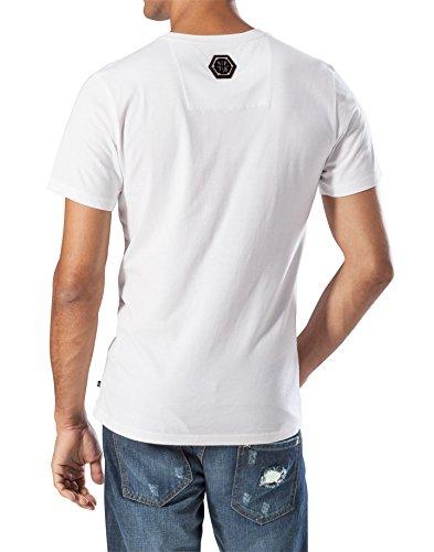 """PHILIPP PLEIN """"DESTROY BEVERLY"""" T-shirt - White - XL"""
