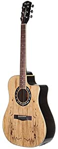 fender t bucket 300ce cutaway acoustic electric guitar spalted maple limited. Black Bedroom Furniture Sets. Home Design Ideas