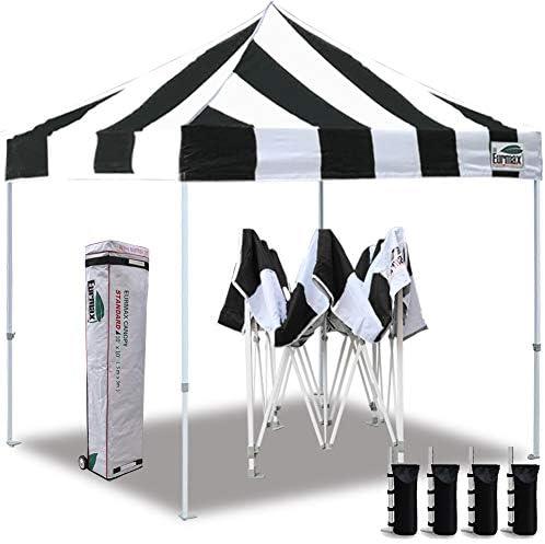 Eurmax 10 x10 Ez Pop Up Canopy Tent Commercial Instant Canopie