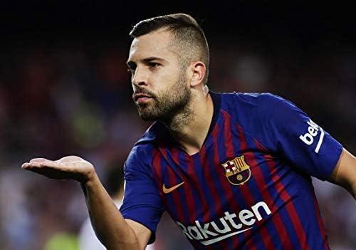 Desconocido Jordi Alba FC Barcelona la Liga España Fútbol Póster ...