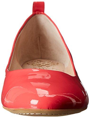 Vince Camuto Dames Benningly Ballet Platte Paradijs Roze Zachte Koe Patent