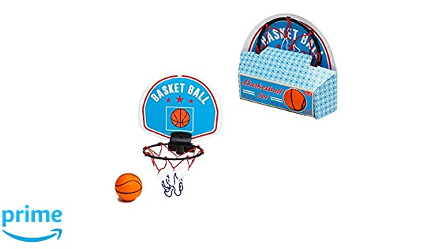 Retroh - Mini Cesta de Baloncesto con balón, rt17822: Amazon.es ...