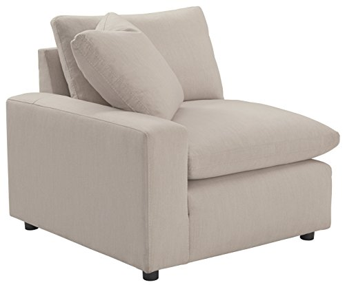 Ashley Furniture Signature Design - Savesto Contemporary Left Arm Facing Corner Chair - Standalone or Sectional Component - -