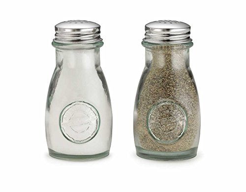 Tablecraft H6618CM Salt & Pepper Shaker Set, 4 oz, Green ()
