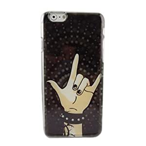 WQQ Beautiful Fingers Plastic Hard Back Cover for iPhone 6