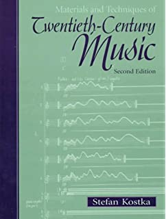 Materials and techniques of post tonal music stefan kostka materials and techniques of twentieth century music 2nd edition fandeluxe Choice Image