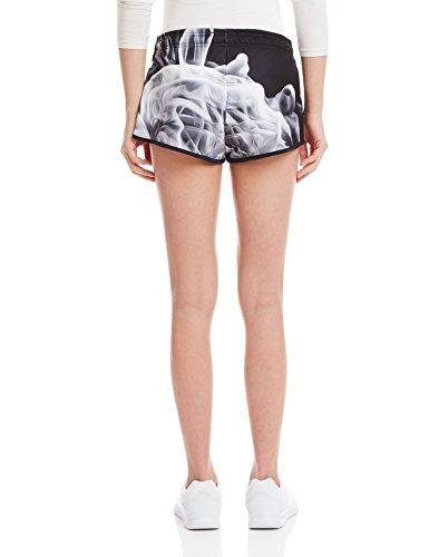 Adidas White Smoke W Shorts 32 black