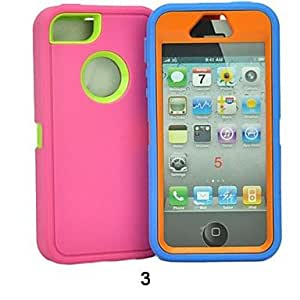 The Color Protection Sleeve Soft Case for iPhone5/5S , 3