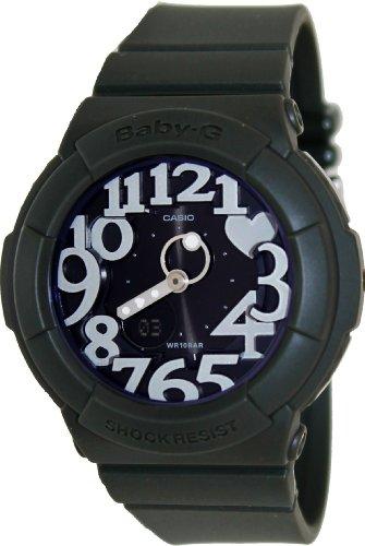 Casio BGA134-3B Baby-G Plastic Green Rock Star Neon Illuminator Ladies Watch