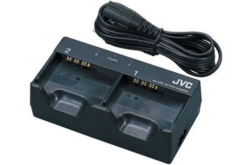 JVC AA-V200U Dual Battery Charger for Everio 100, 200 & 500 Camcorders by JVC