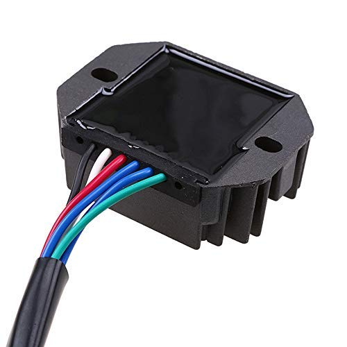 Voltage Rectifier Regulator For Kubota RS5101 RS5155 RTV500 Grasshopper Mower 1822D 2132 321D 325 718D 721 721D 721D2 721DH2 721DT 721DT2 721G2 725 725G2-6 Wire Plug Repl.OE# 15351-64600 15351-64601