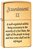"2nd Amendment ""The Right to Bear Arms"" American Pride Patriotic Zippo Lighter"