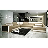 VIG Furniture VGEV-SP-1003 Divani Casa 1003 - Modern Bonded Leather Sectional