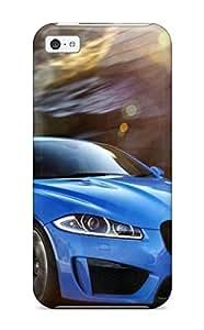 Iphone 5c Speeding Car Print High Quality Tpu Gel Frame Case Cover
