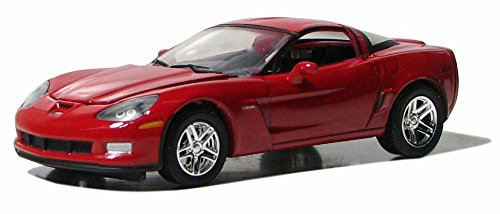 2010 Chevy Corvette Z06, Torch Red - Greenlight 13026/12 - 1/64 Scale Diecast Model Toy Car