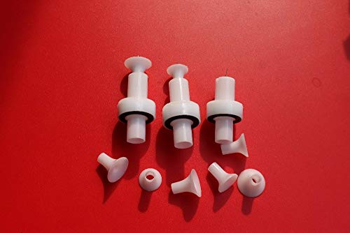 SYH01 ode holder round for powder spare parts nozzle Gema easy select coating guns